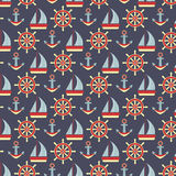 Marine pattern Royalty Free Stock Photo