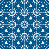 Marine pattern Royalty Free Stock Images