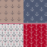 Marine patterns Stock Image