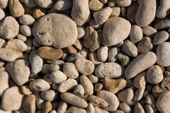 Marine pebble Stock Photography