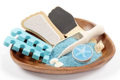 Marine pedicure set Stock Photography