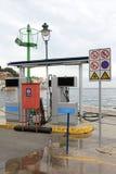 Marine Petrol Station fotografia de stock royalty free