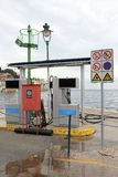 Marine Petrol Station royalty free stock photography