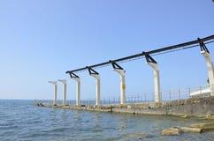 Marine-Pier Lizenzfreie Stockbilder