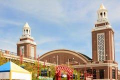 Marine Pier Auditorium Images stock