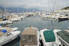 Marine Pier Royalty Free Stock Photo