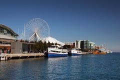 Marine-Pier Chicago Lizenzfreie Stockfotografie
