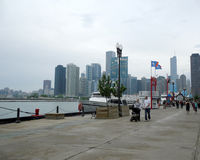 Marine Pier Chicago Illiinois Lizenzfreie Stockfotografie