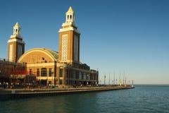 Marine Pier Grand Ballroom Image stock
