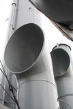Marine pipes Stock Photography