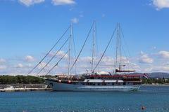 Marine pleasure craft from Croatia Stock Photo