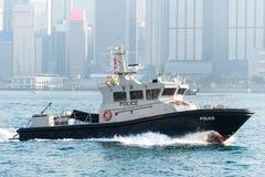 Marine Police en Hong Kong Image stock