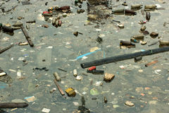 Marine pollution Stock Photography
