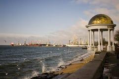 Marine port Stock Image