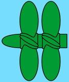 Marine propeller Stock Photo