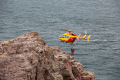 Marine Rescue helicopter Royalty Free Stock Images