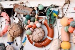 Marine Rescue Lifebelt Buoy lizenzfreie stockfotografie
