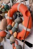 Marine Rescue Lifebelt Buoy stockfotografie
