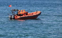 Marine rescue operation Royalty Free Stock Photo