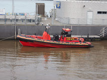 Marine rescue unit in Liverpool Stock Images