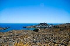 Marine rocky bay Stock Photo