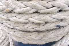 Marine rope Stock Photography