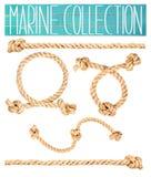 Marine rope. Stock Photo