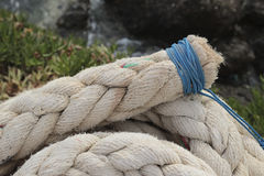 Marine rope Stock Photo
