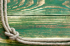 Marine rope knotted Royalty Free Stock Photography