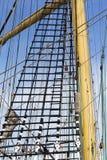 Marine rope ladder Stock Photo