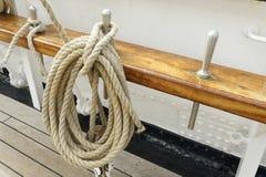 Marine rope Stock Photo