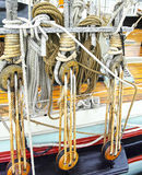 Marine rope Stock Images