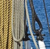 Marine ropes Royalty Free Stock Photography