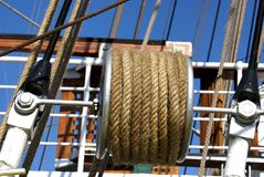 Marine ropes Stock Photos