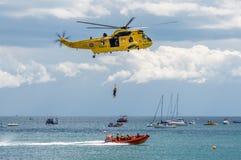 Marine royale Sea King Helicopter Photo libre de droits