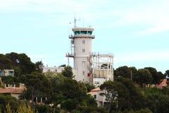 Marine Sémaphore du Cap Couronne dans les Frances Photographie stock libre de droits