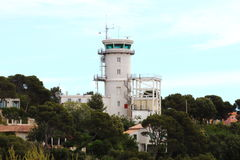 Marine Sémaphore du Cap Couronne in France Royalty Free Stock Photography