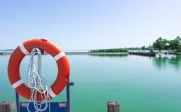 Marine Safety Equipment, cavo di sicurezza fotografie stock