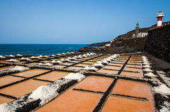 Marine Salinas de Fuencaliente de la Palma Immagine Stock Libera da Diritti