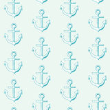 Marine seamless pattern. Stock Photos