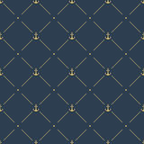 Marine seamless pattern background Stock Images