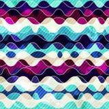 Marine seamless pattern Stock Photo