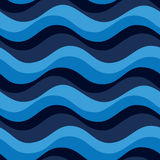 Marine seamless pattern Stock Images