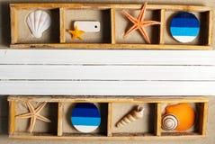 Marine shelf. Stock Photography