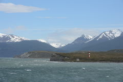 Marine sign in the Beagle channel. Stock Photography