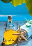 Marine spa treatment and wellness Royalty Free Stock Image
