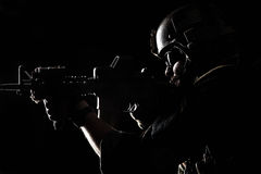 Marine Special Operator Stock Images