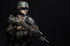 Marine Special Operator Royalty Free Stock Image