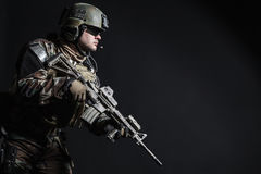 Marine Special Operator Royalty Free Stock Photography