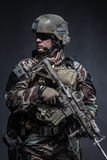 Marine Special Operator Royalty Free Stock Images